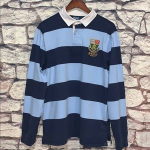 90's VTG Polo Ralph Lauren Classic Striped Rugby